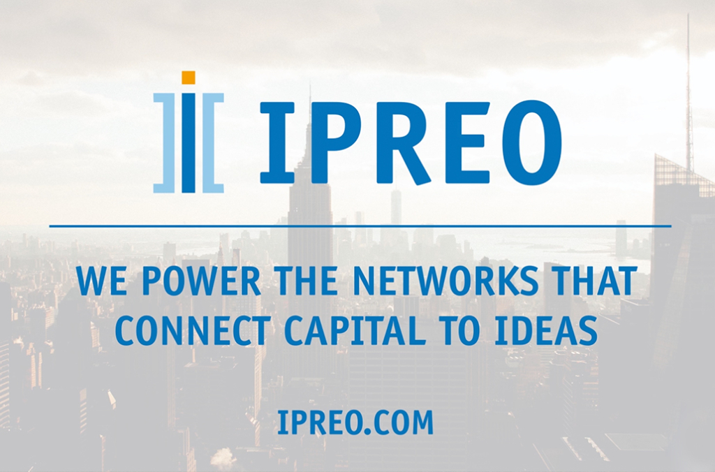 IPREO. We powe the networks that connect capital to ideas.