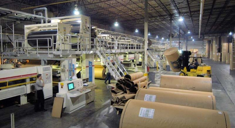 The interior of a manufacturing facility located in Warren County.