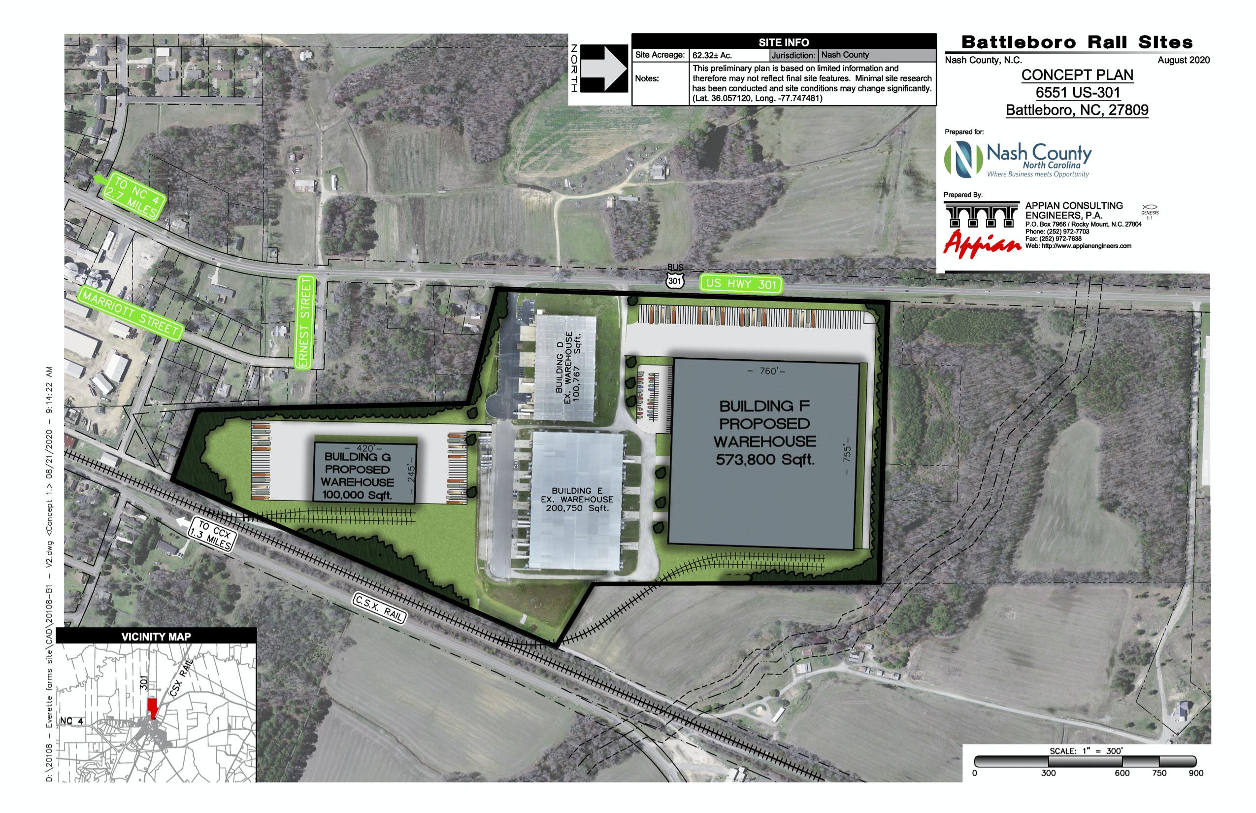 Nash- AvailSite-Battleboro Rail Site Concept Plan
