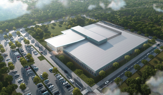 Rendering of Biogen's Facility