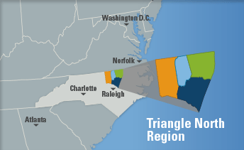 Overview Map of Triangle North