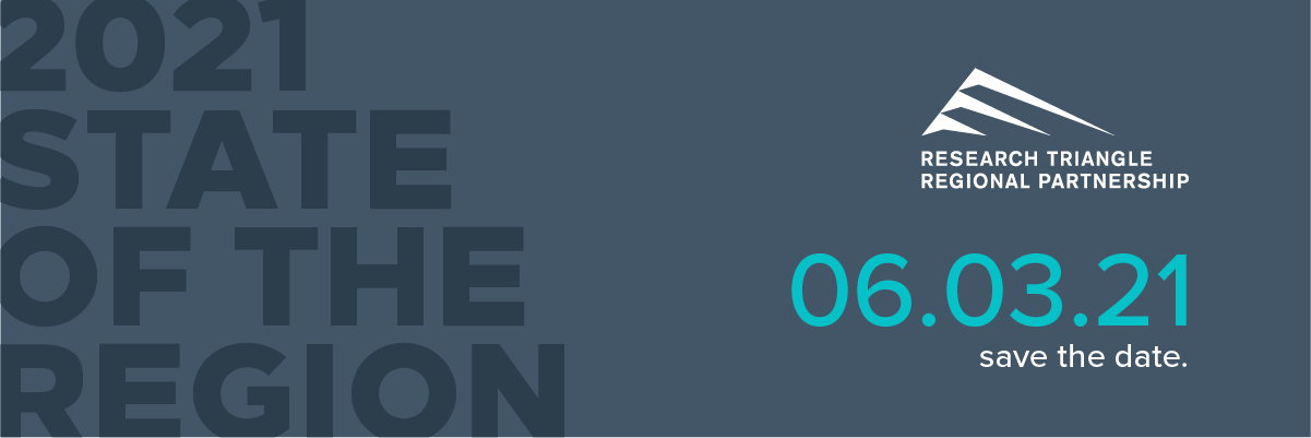 Save the date for the 2021 virtual State of the Region event on June 3, 2021.