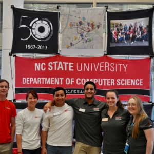 Students at NC State's Department of Computer Science